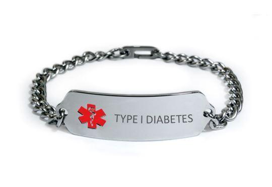 Medical Alert Bracelet diabetes