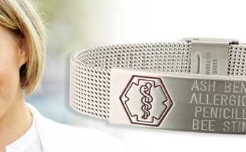 allergic medical bracelet