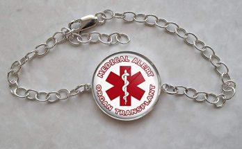 medical bracelet organ transplant