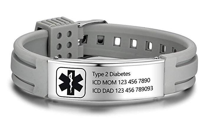 medical alert bracelet women