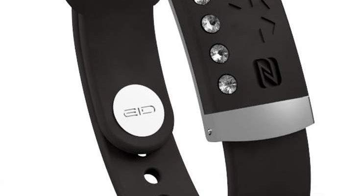 stylish gps enabled medical bracelet